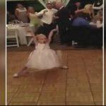 A kis csöppség elkezdett táncolni az esküvőn és ellopta a show-t: az egész násznép őt csodálta