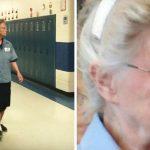 A 77 éves gondnoknőt szólítja a hangosbemondó: mikor belép a terembe, látja, az egész iskola rájött a titkára