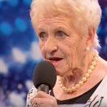 A 80 éves nyugdíjas takarítónő megmutatja a világnak, a kor nem számít, csak a hit és a hang: