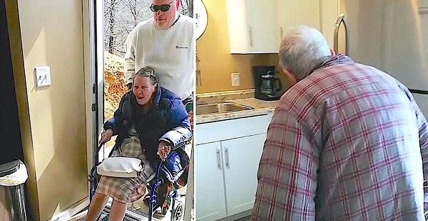 A pincébe vitte lakni 87 éves szüleit, ők mégis sírva fakadtak az örömtől