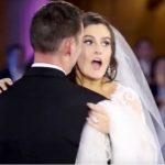A menyasszony azt hiszi, teljesen tönkretették az esküvői táncát, míg meg nem látja, ki áll a színpadon