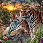 Mit mondasz, hány tigris van a képen összesen: sokan csak négyre bukkannak rá, pedig jóval több van