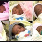 Az orvosok is köréjük gyűltek: hat egészséges babának adott életet az anyuka, alig 9 perc alatt