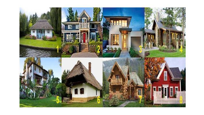 Válaszd ki a hozzád leginkább illő házat, és feltárul igazi éned