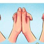 Ahogy összekulcsolod a kezed, arra is választ adhat, hogyan kezeled az embereket fontos kapcsolataidban