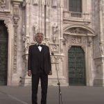 Él a remény: lélekemelő koncertet adott Andrea Bocelli a milánói dómból, eddig már 25 millióan látták