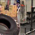 Ez a 73 éves hölgy 40 kilós súlyokat és kerekeket emelget: videón a fiatalokat megszégyenítő, bravúros mutatvány