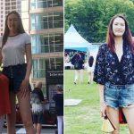 Sokan azt hiszik, Photoshop vagy trükk, pedig ezek eredeti képek: ennek a nőnek vannak a világon talán a leghosszabb lábai