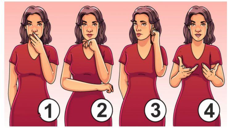 Szerinted melyik testbeszéd árulkodik arról, hogy a nőnek titka van előtted: akár több válasz is helyes lehet